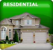 Garage door residential services